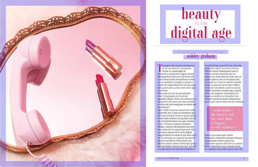 Editorial Magazine Layout - image 2 - student project