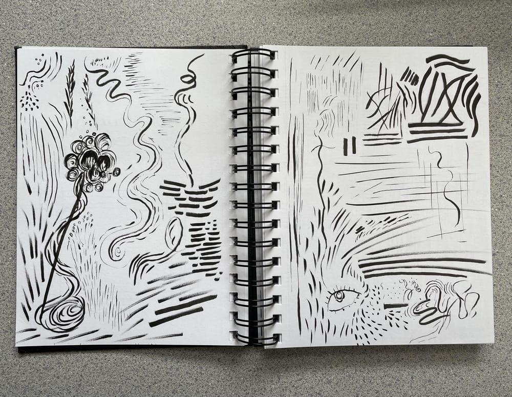 Brush pen exploration - image 2 - student project