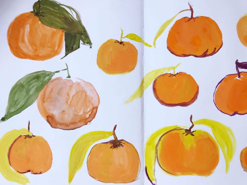 Painting Citrus - image 3 - student project