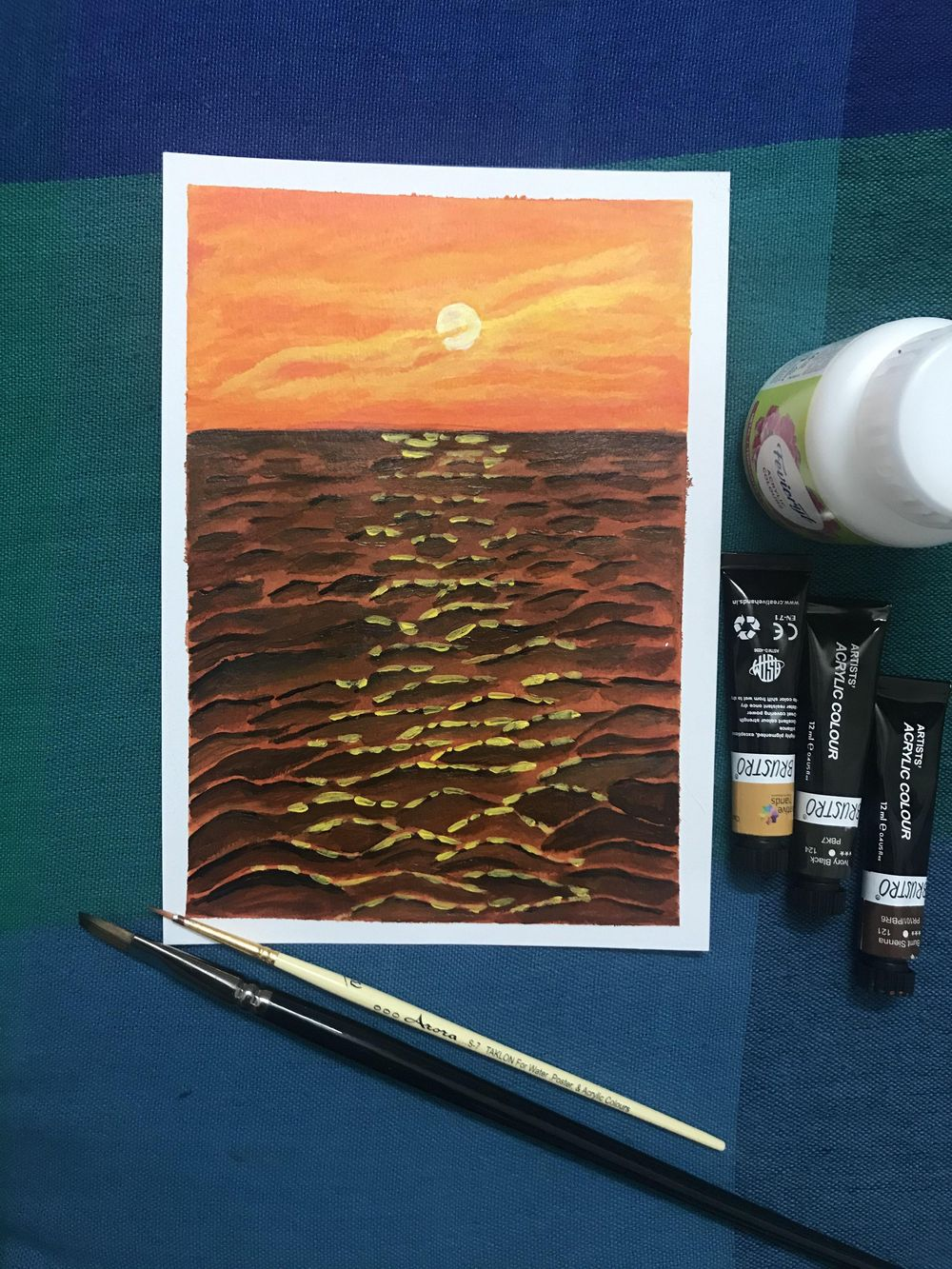 Beautiful sunset! Thanks Deb for the lesson - image 2 - student project