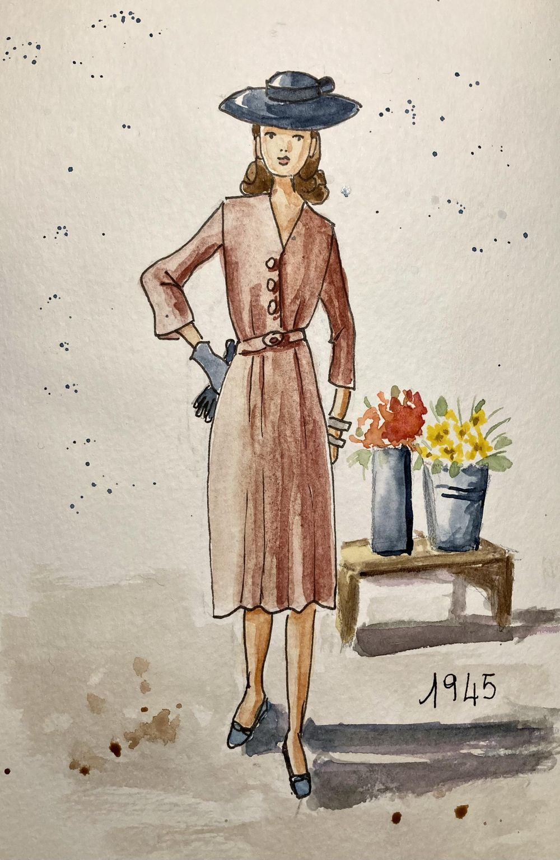 Vintage fashion - image 1 - student project