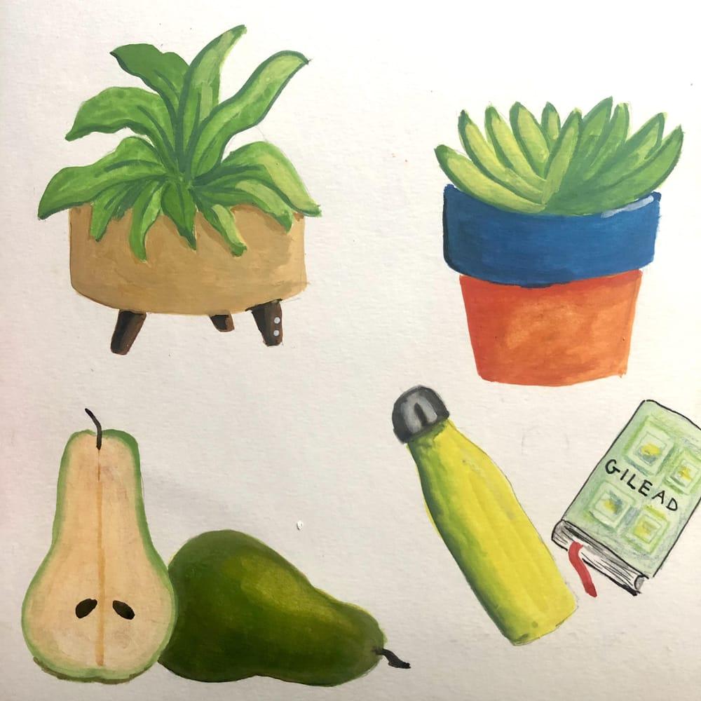Gouache fun - image 2 - student project