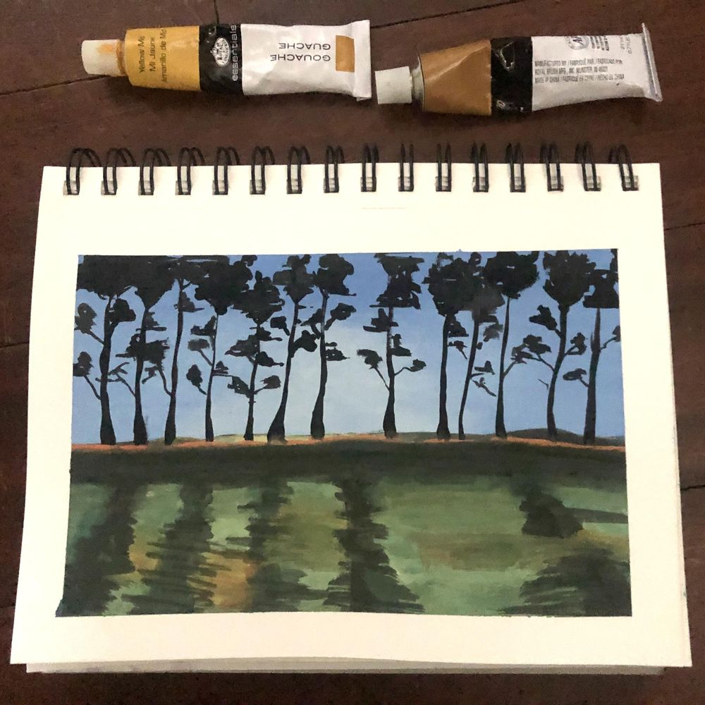 A tree line - image 1 - student project
