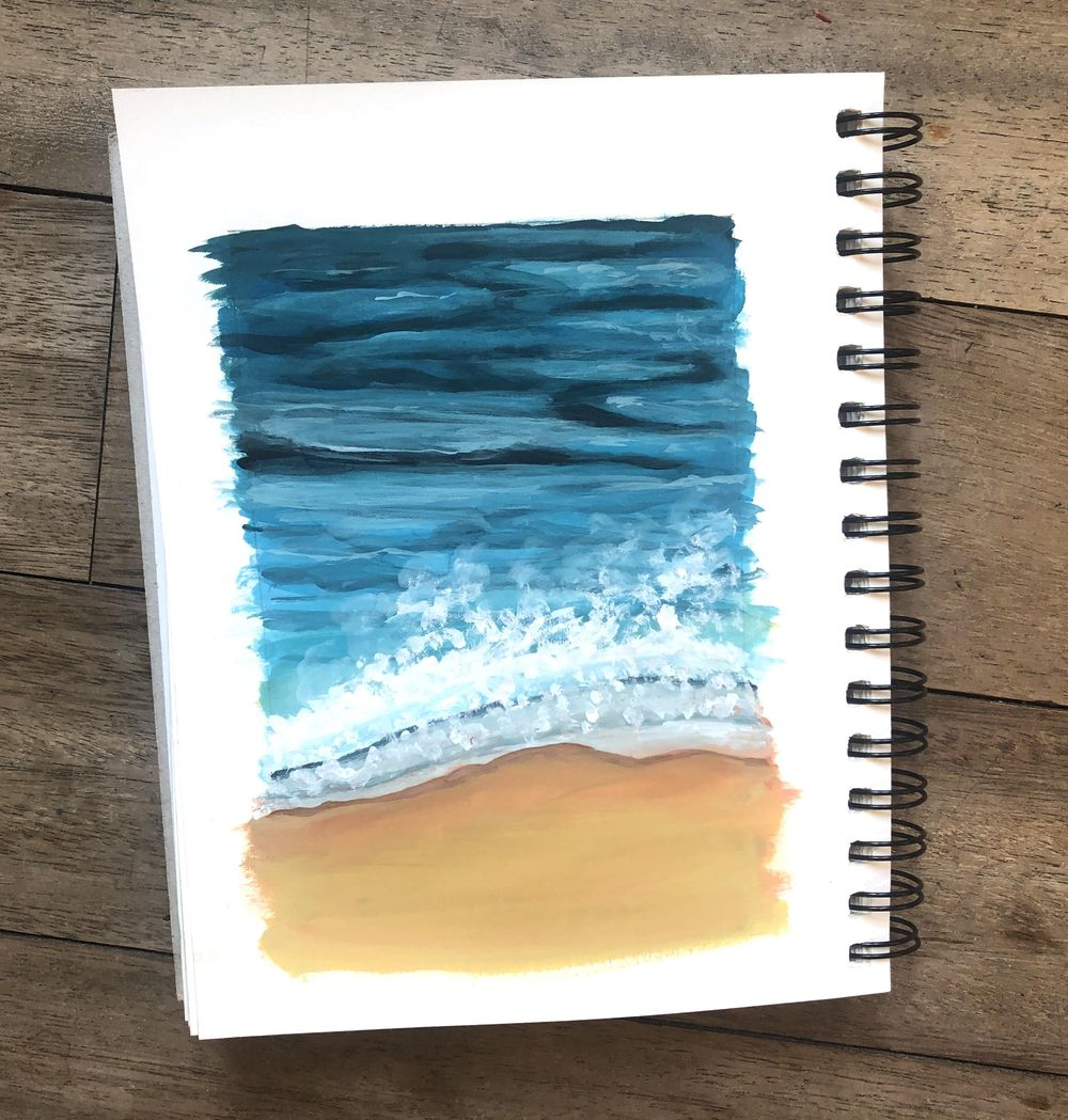Summer beach - image 1 - student project