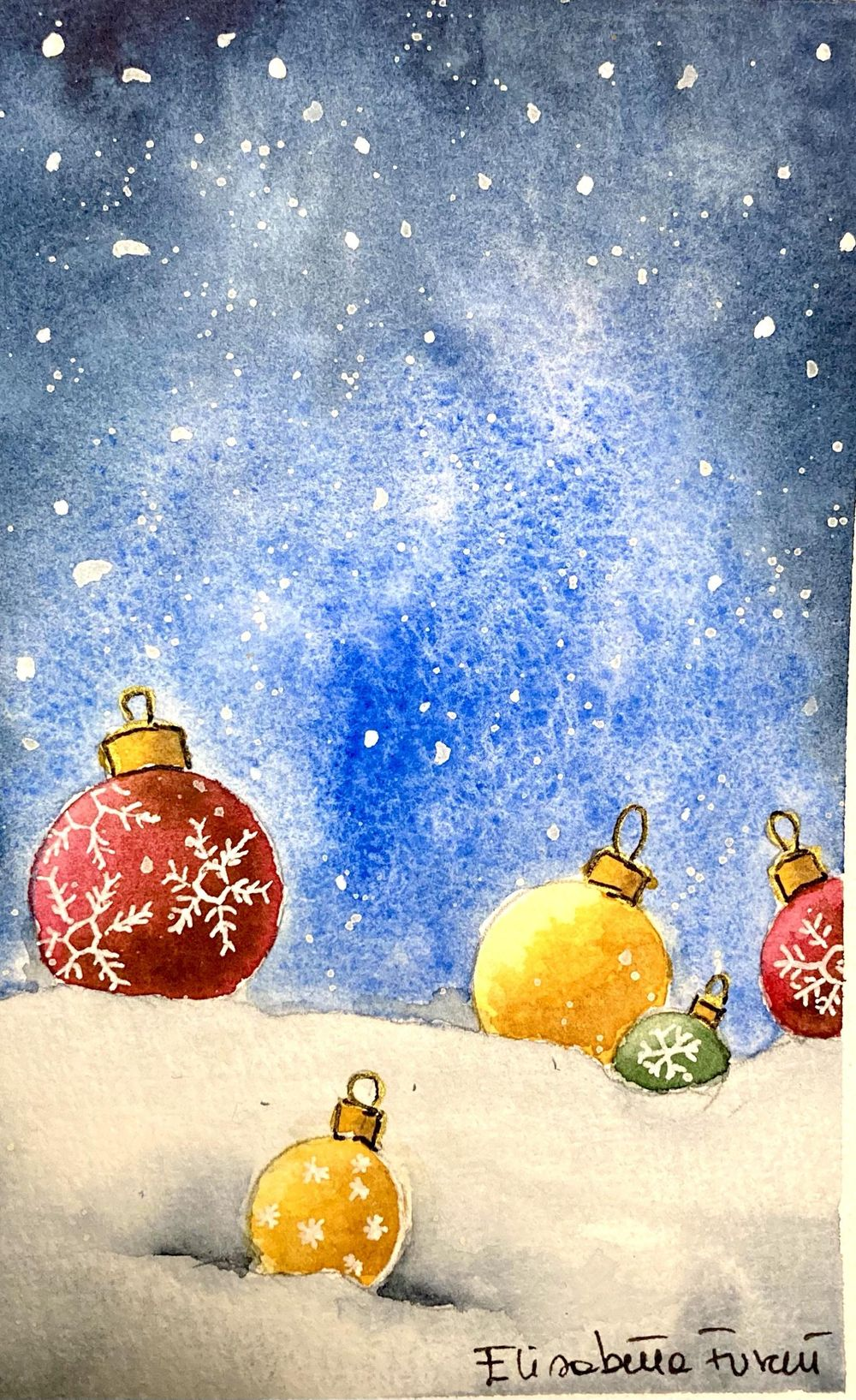 Christmas drawings - image 3 - student project