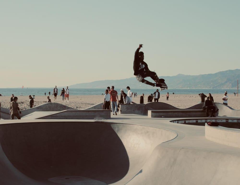 Venice Beach Skateboarder - image 1 - student project