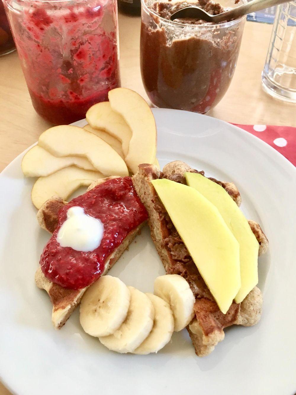 Delicious Apple Hazelnut Waffles For Weekend Breakfast  - image 1 - student project