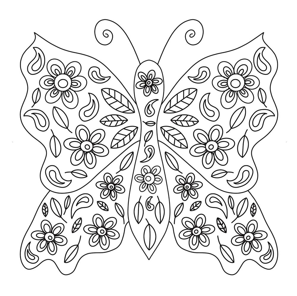 Colouring book page no colour - image 5 - student project