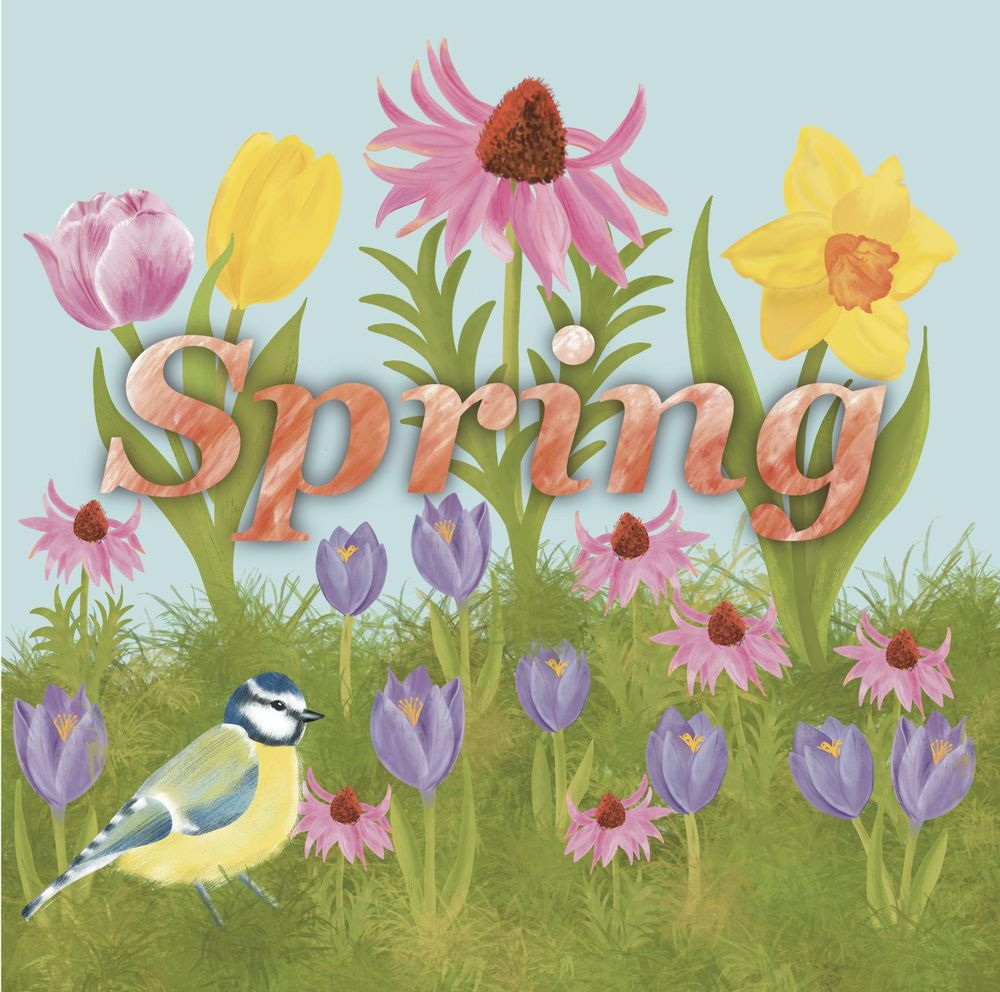 Spring illustration - image 3 - student project