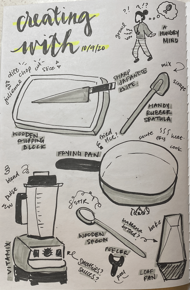 2 days of illustrated journaling - image 1 - student project
