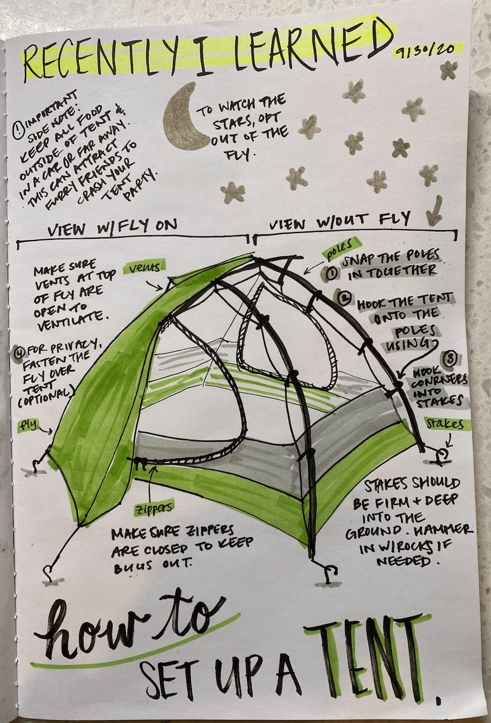2 days of illustrated journaling - image 2 - student project