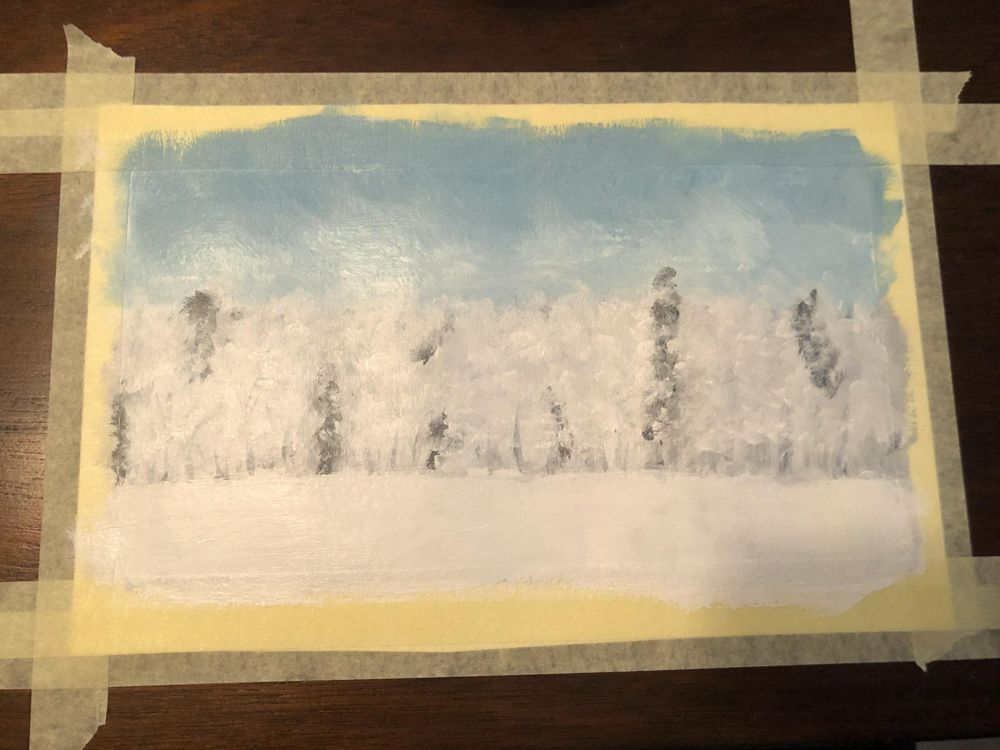 Snowy Trees - image 6 - student project