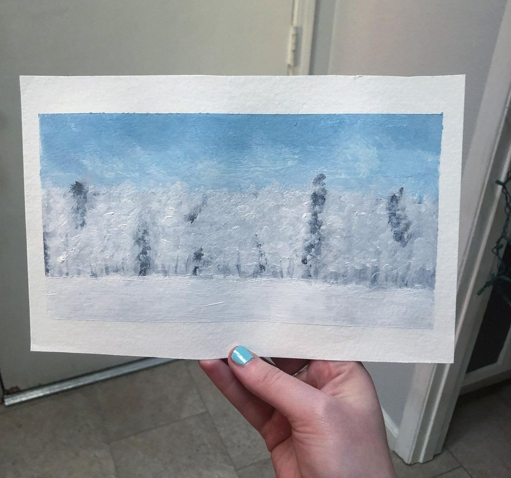 Snowy Trees - image 7 - student project