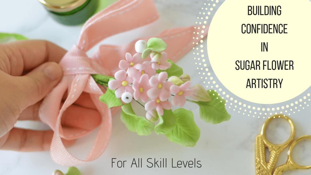 Teach Challenge Jan 2019 - First Class Sugar Flower Art - image 1 - student project