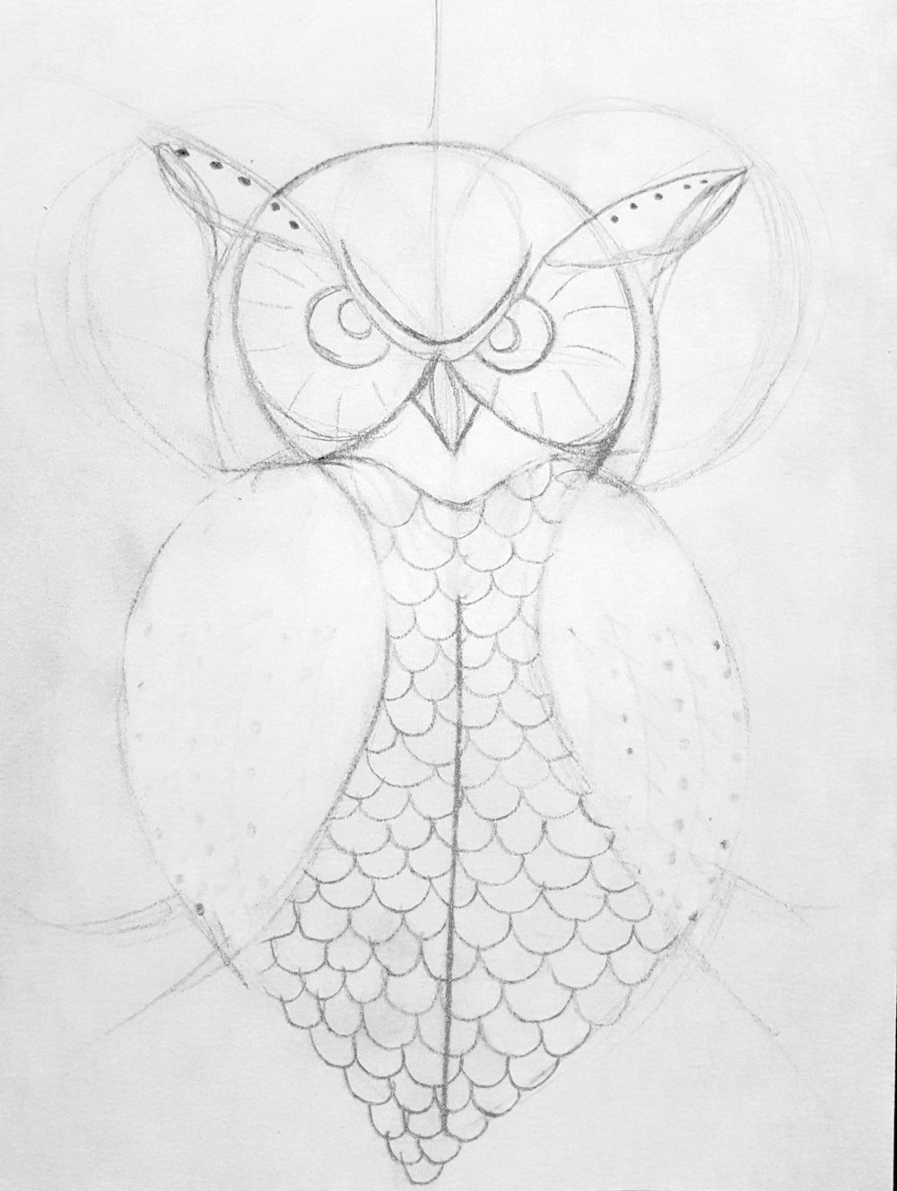 Great Horned Owl - image 1 - student project