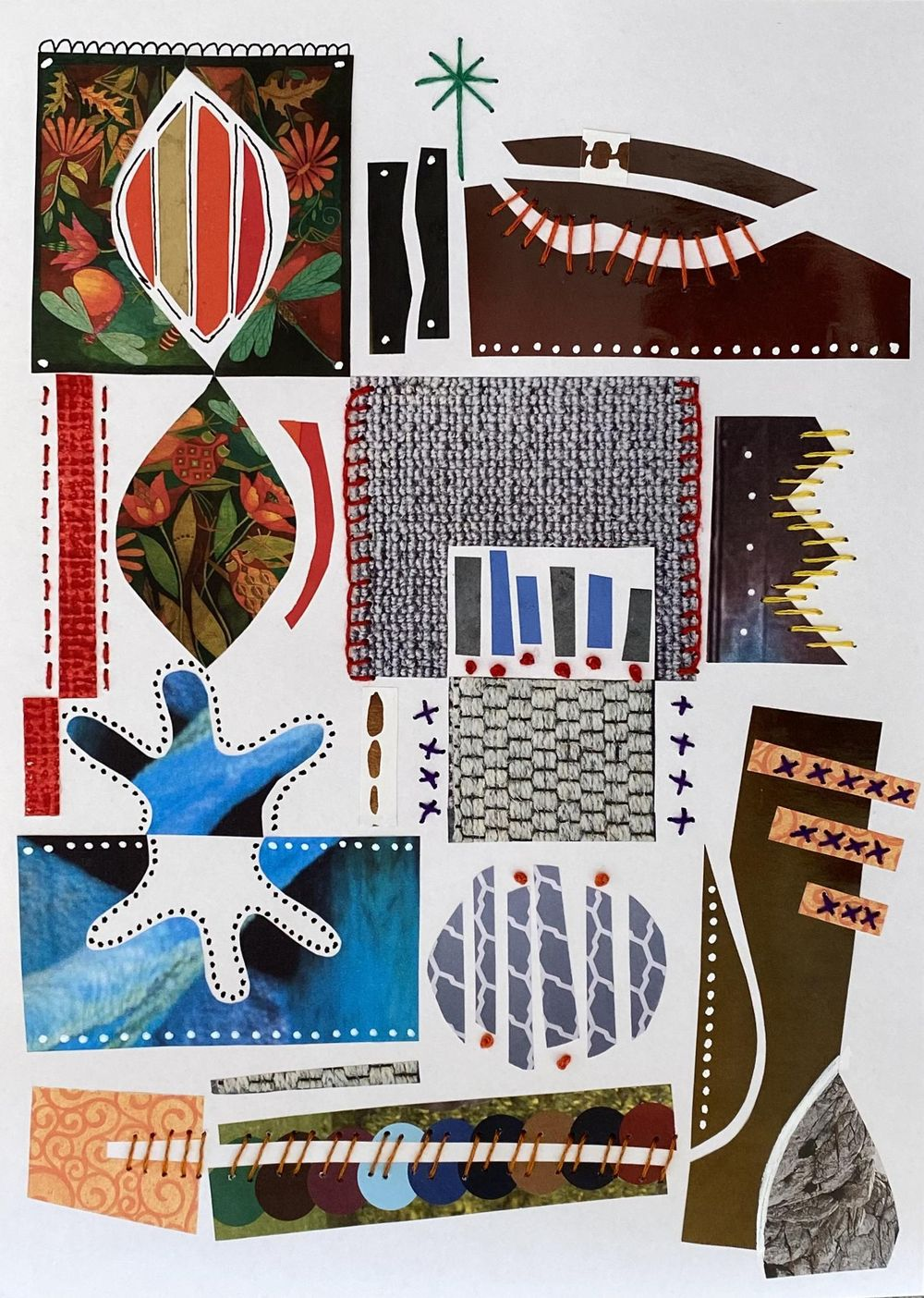 Collage & Stitch - image 1 - student project