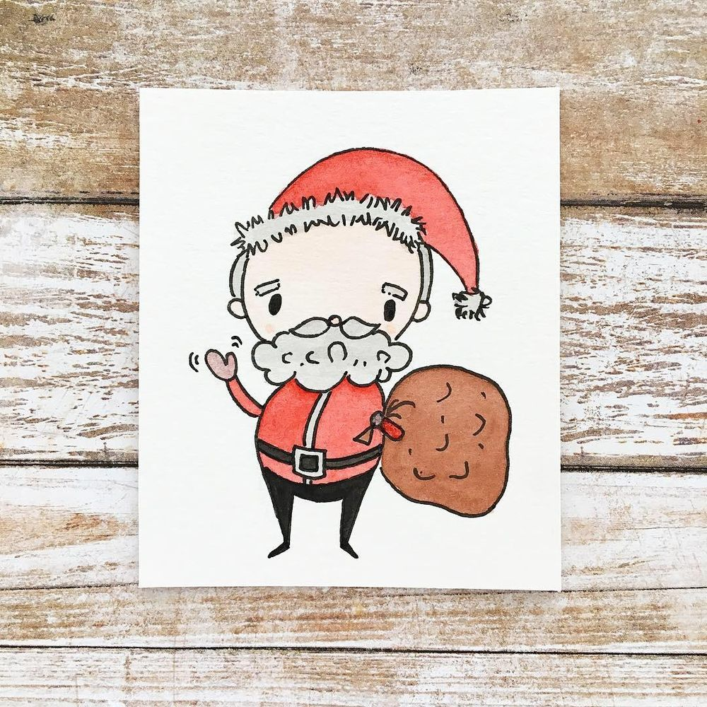 """""""You Can Draw Christmas Cuties!"""" Class by Yasmina Creates - image 1 - student project"""