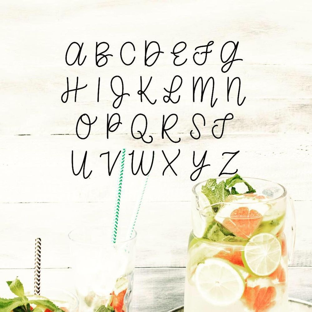 Lemon Squeezy Font - image 3 - student project