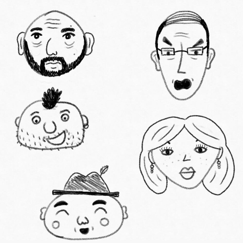 Adam's Fun Faces - image 3 - student project