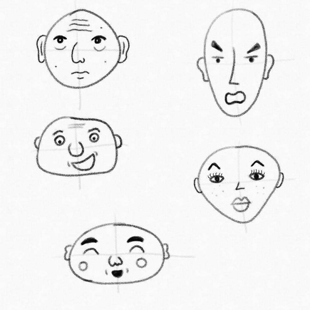 Adam's Fun Faces - image 2 - student project
