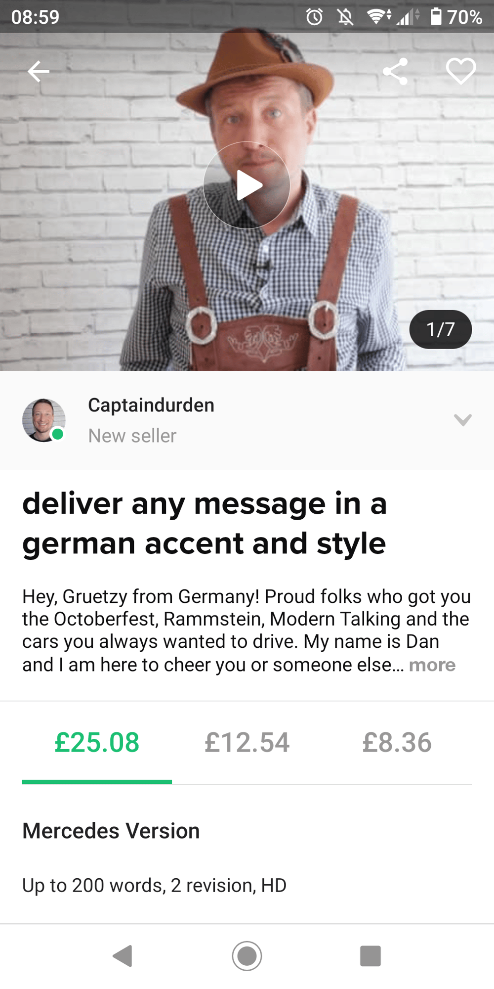 Delivering any message in german style - image 1 - student project