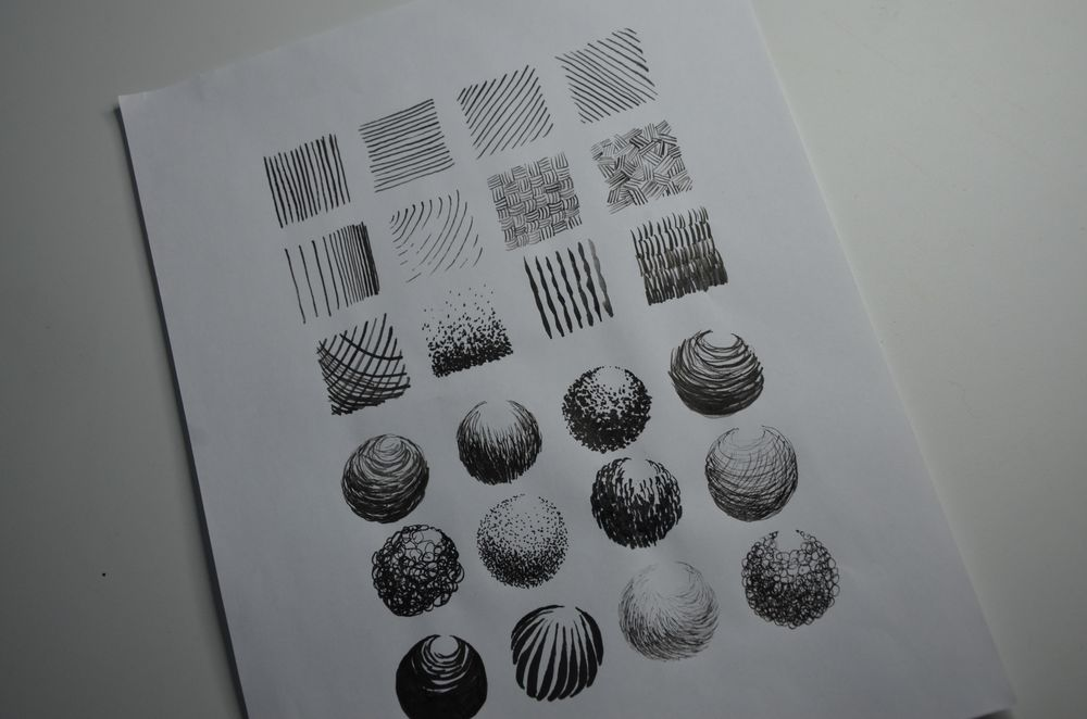 Ink Practise - image 5 - student project