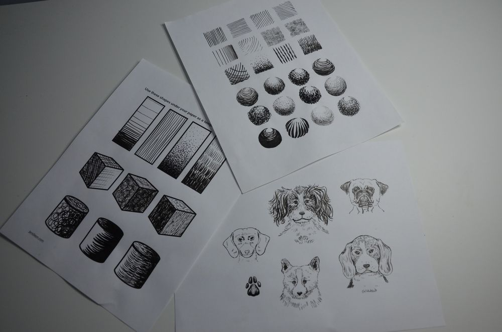 Ink Practise - image 4 - student project