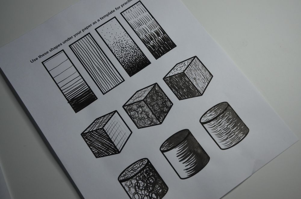 Ink Practise - image 1 - student project