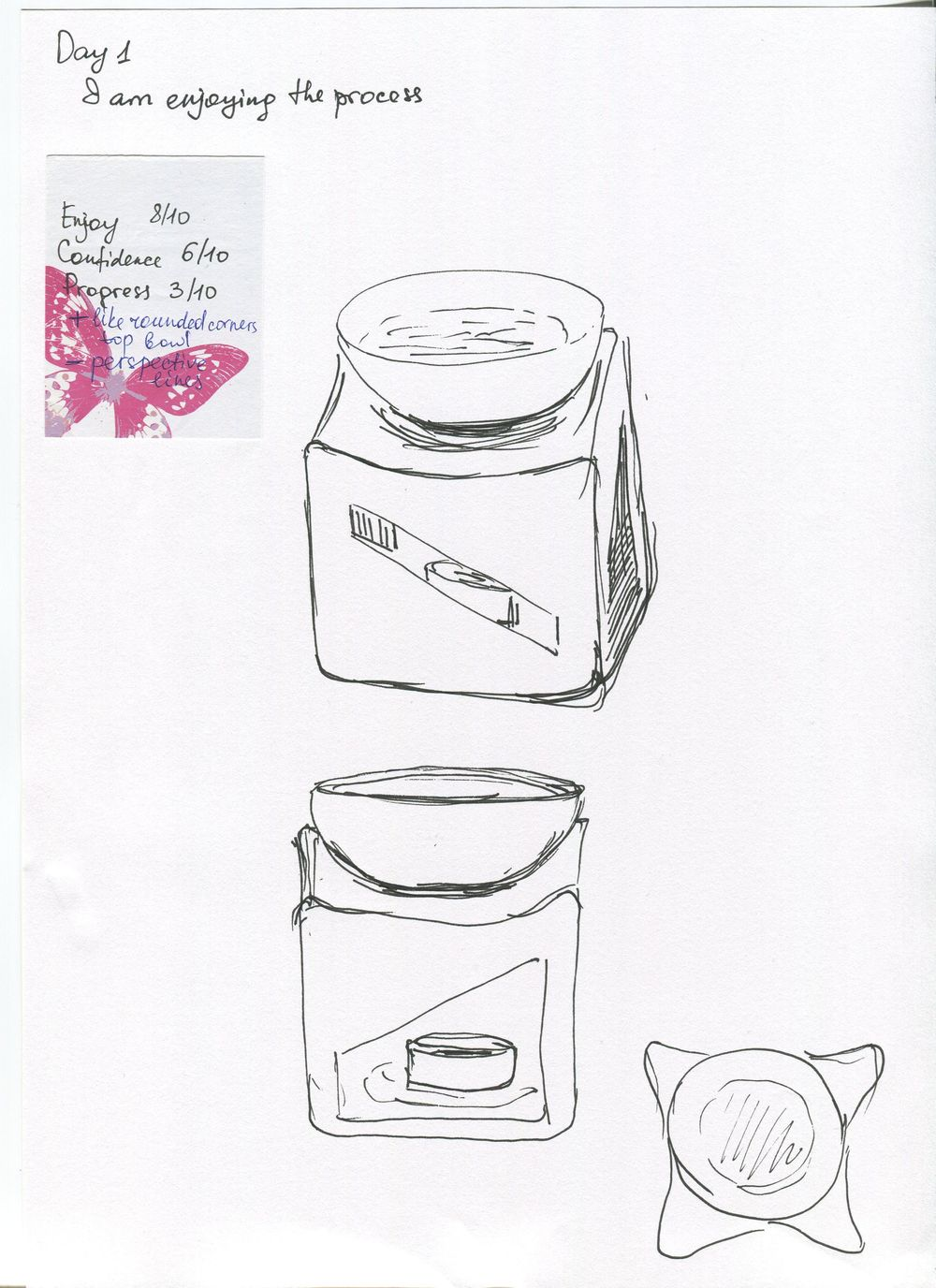 14 days of Sketching - image 1 - student project