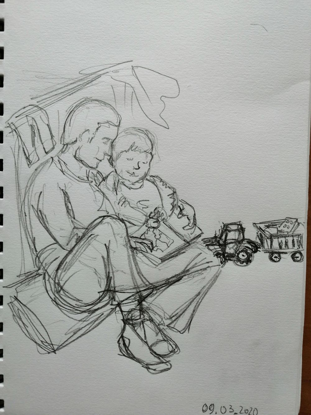 14 days of Sketching - image 10 - student project