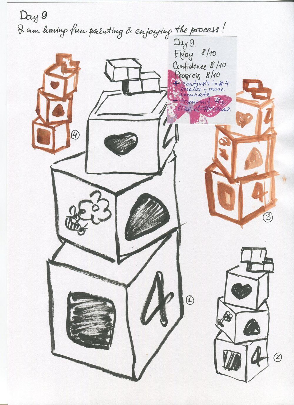 14 days of Sketching - image 12 - student project