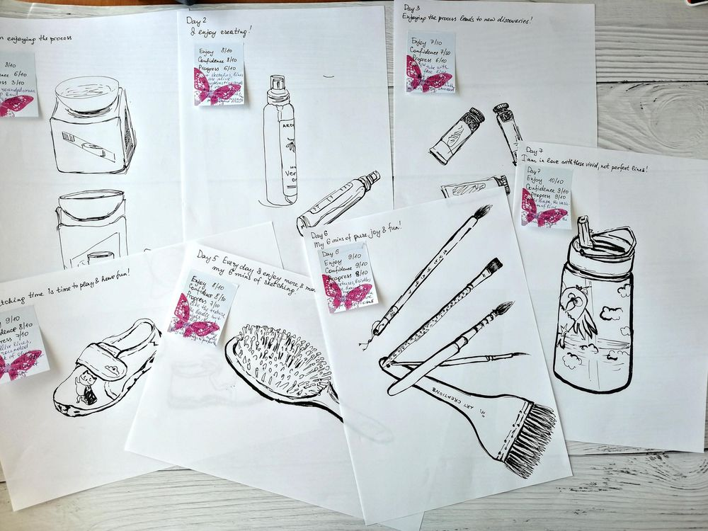 14 days of Sketching - image 8 - student project