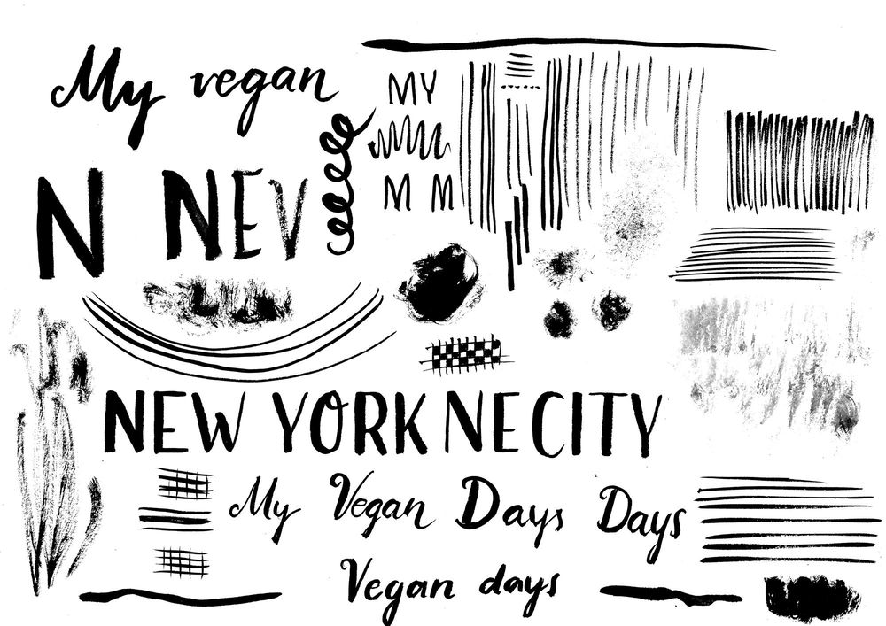 My Vegan Days in New York City - image 4 - student project