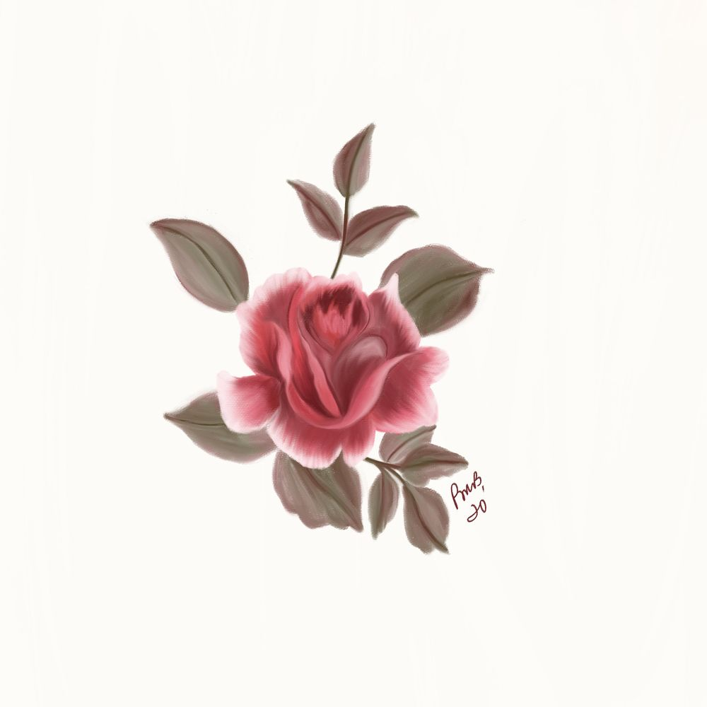 Painterly Flowers - image 1 - student project