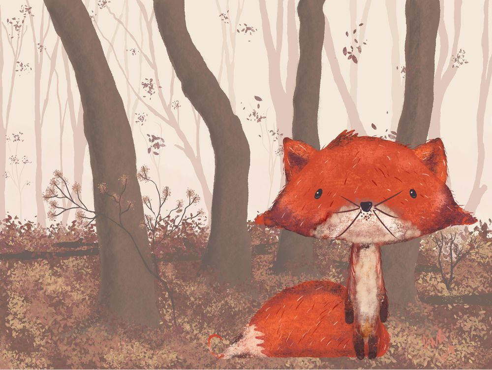Forest Fox - image 1 - student project