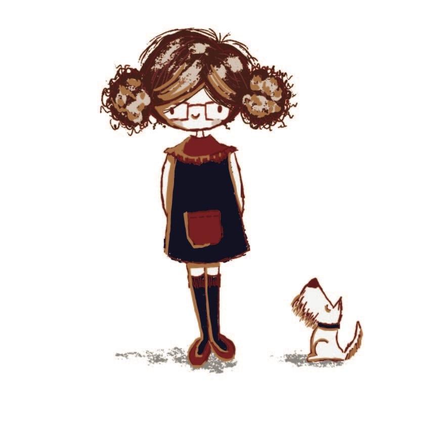 Procreate / Adobe Girl - image 1 - student project