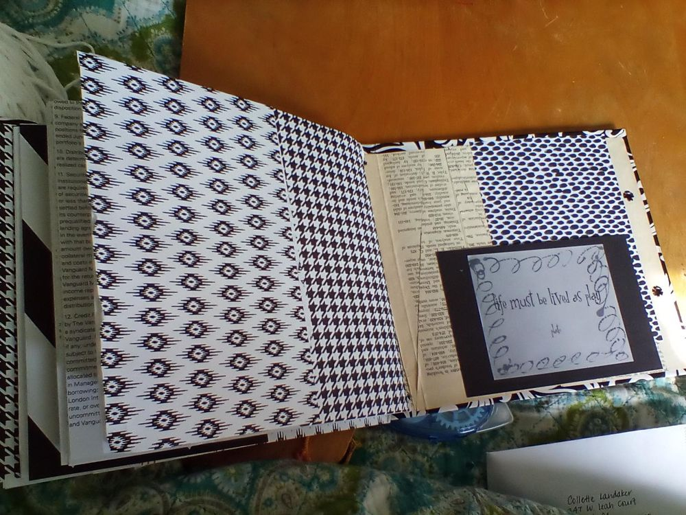 Junk Journal - image 3 - student project