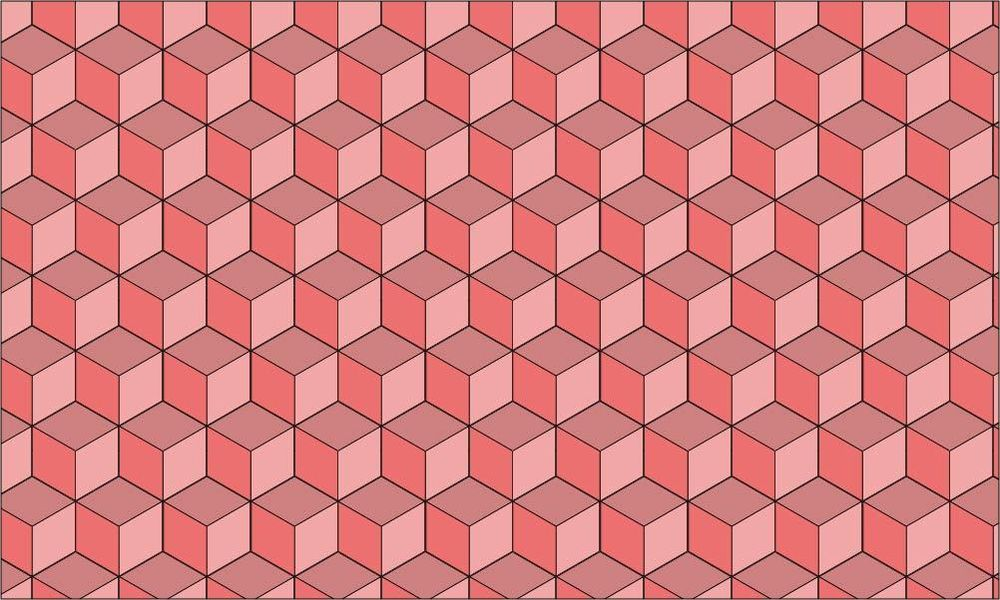 Isometric Cube Pattern - image 1 - student project