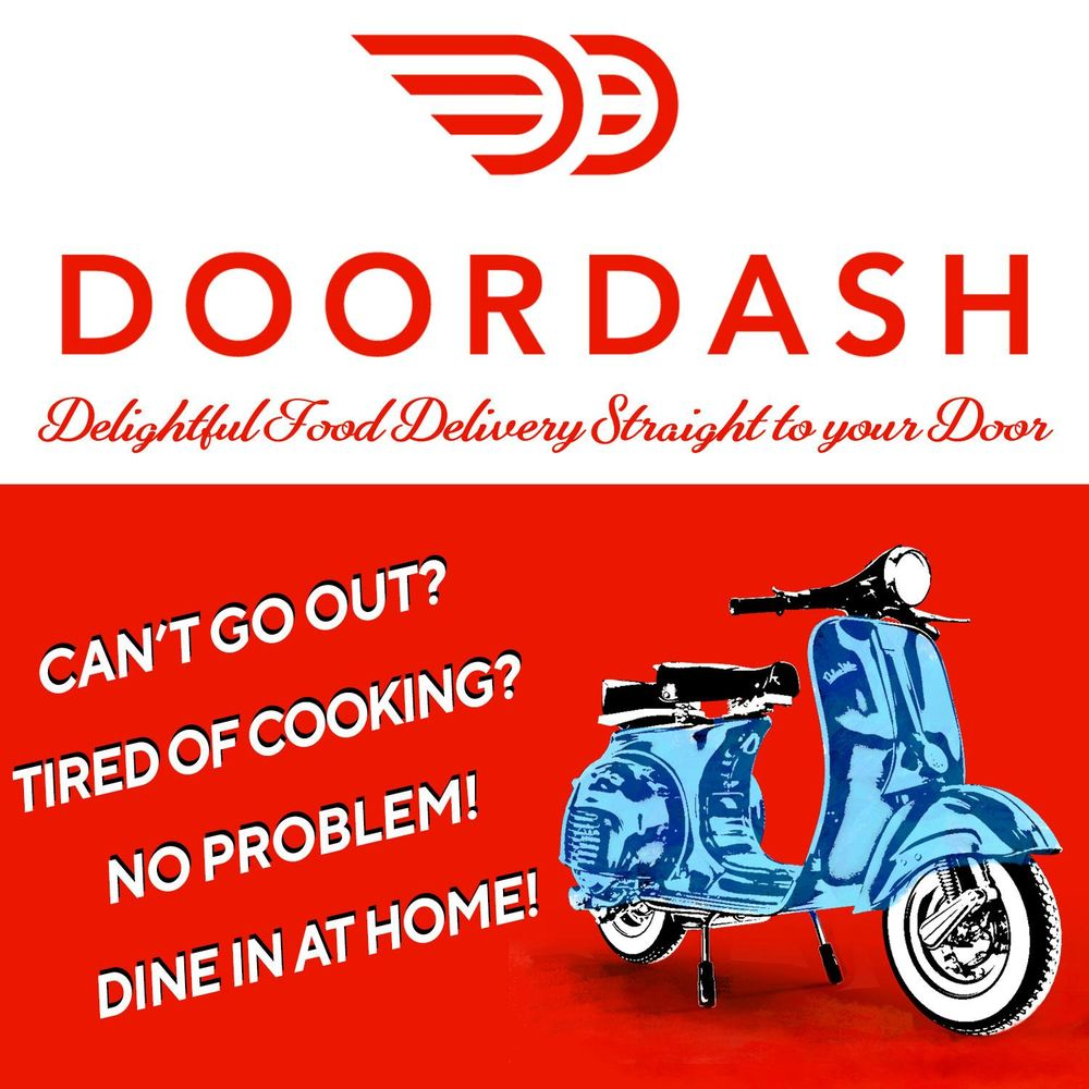 DoorDash Retro Ad - image 1 - student project