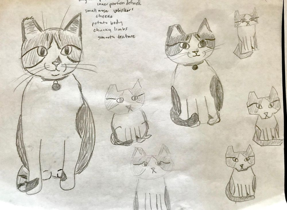 draw my cat - image 1 - student project