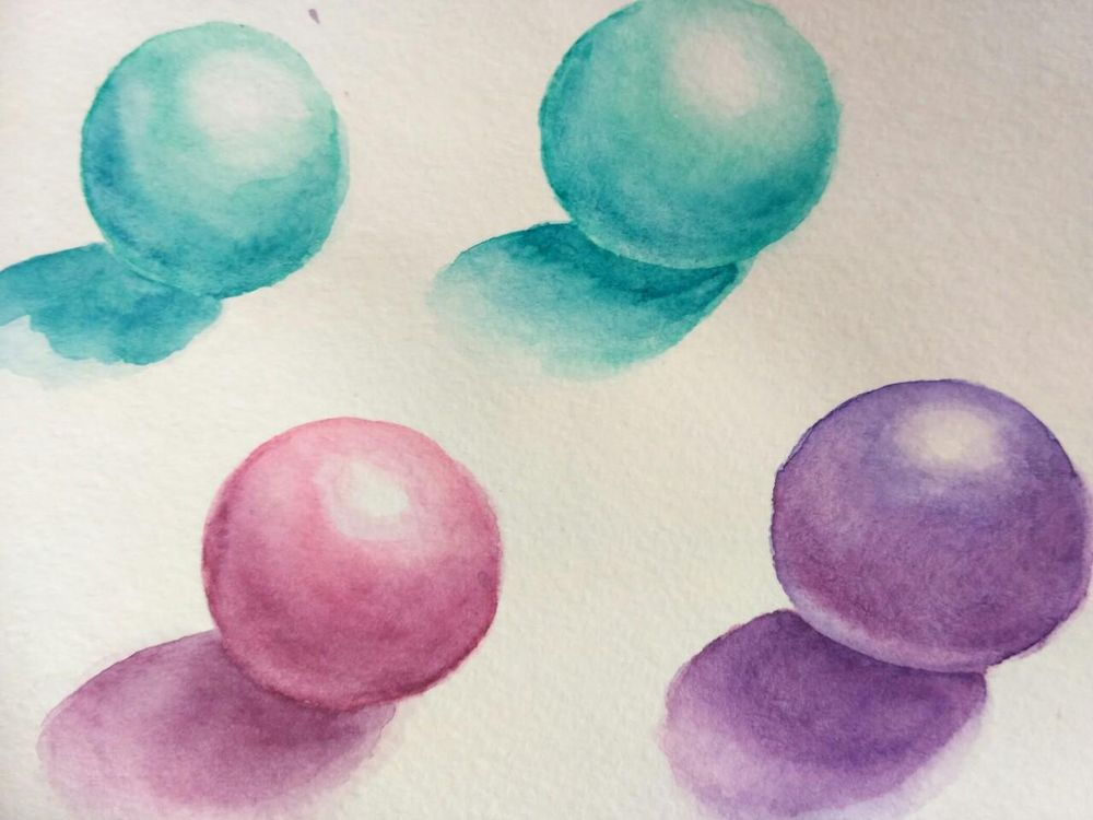 Magical Watercolor - image 1 - student project
