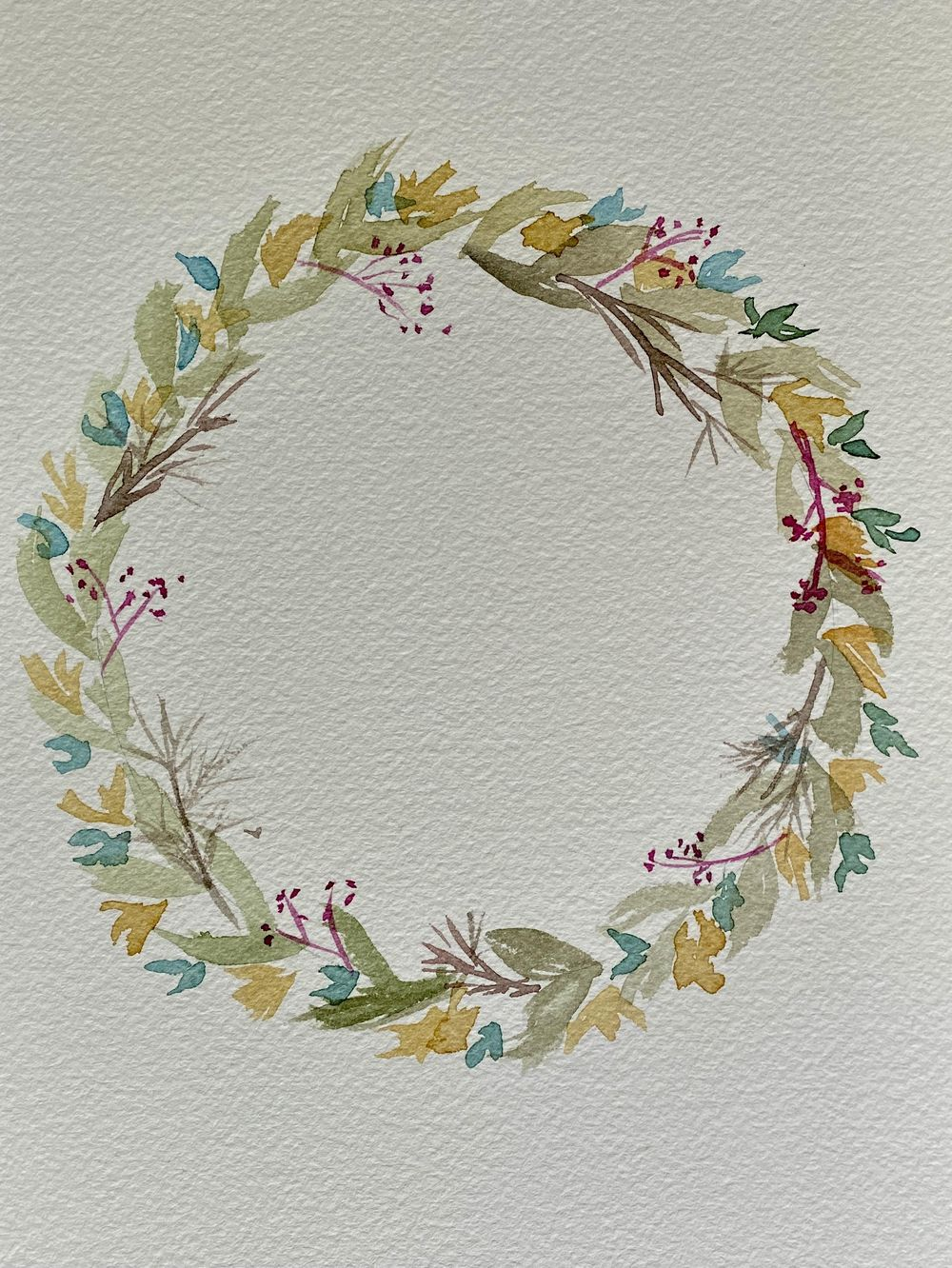 15 Minute Wreath - image 1 - student project