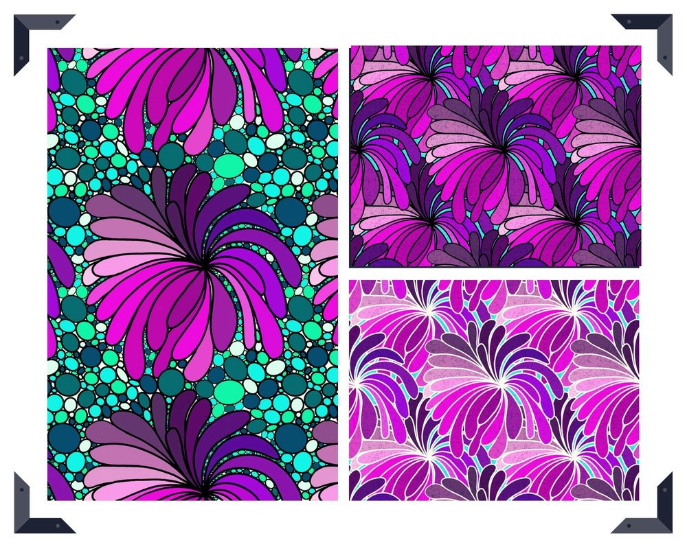 Advanced Repeat Patterns and Textures - image 6 - student project