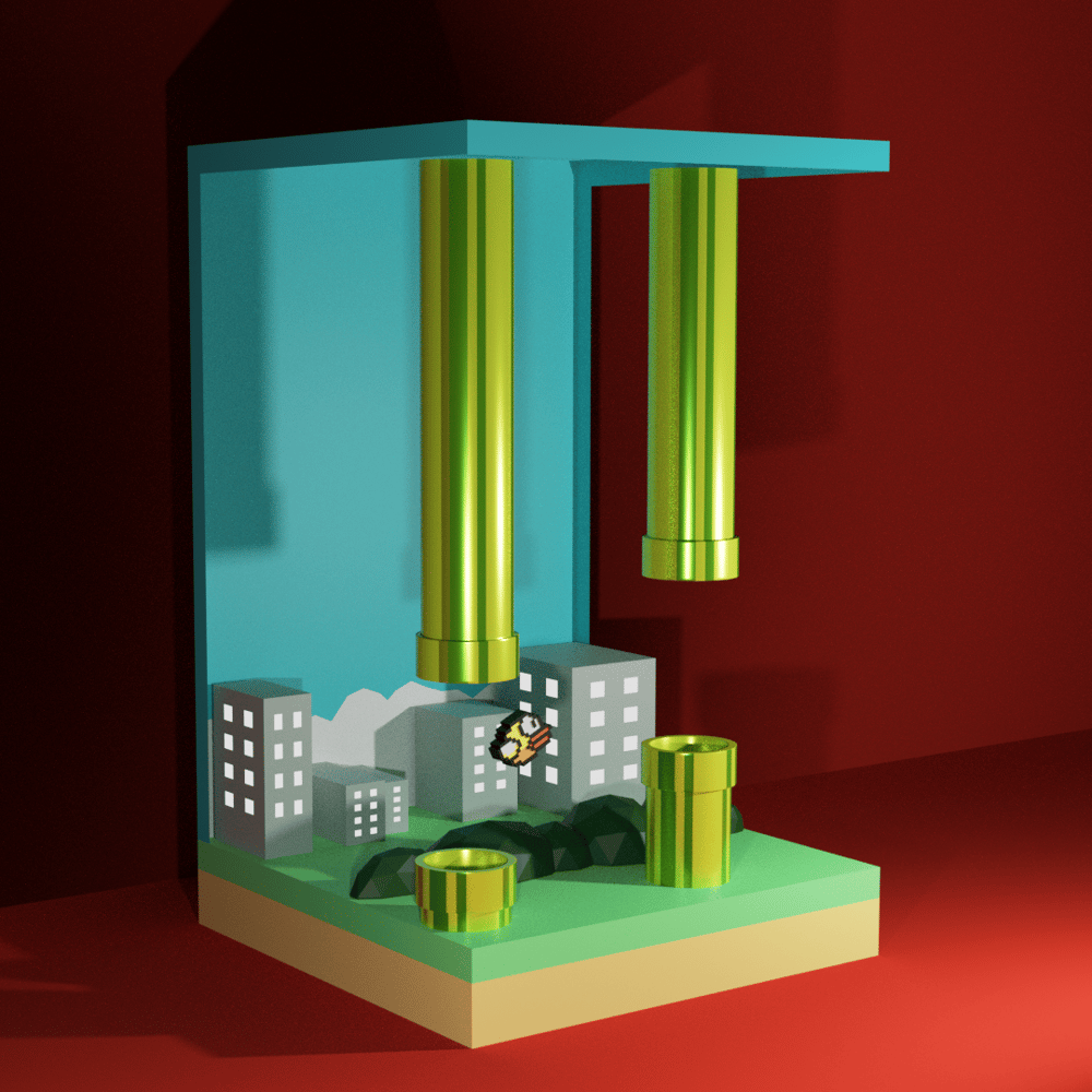 Flappy Bird. - image 2 - student project
