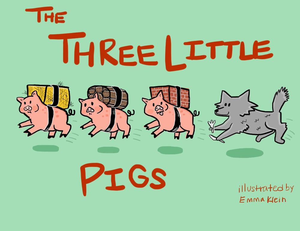 Three Little Pigs Project - image 3 - student project