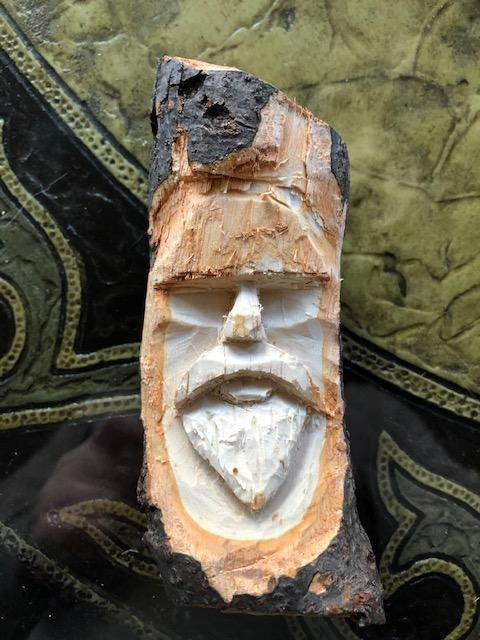 Wood Spirit from branch - image 1 - student project