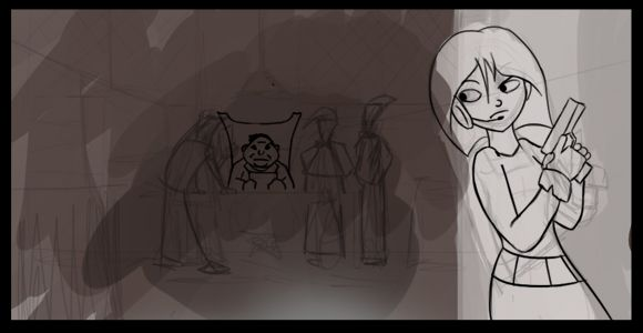 Secret Agent Storyboard Project 1 - image 2 - student project
