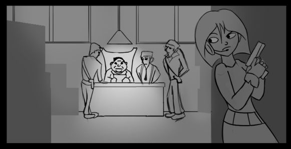 Secret Agent Storyboard Project 1 - image 1 - student project