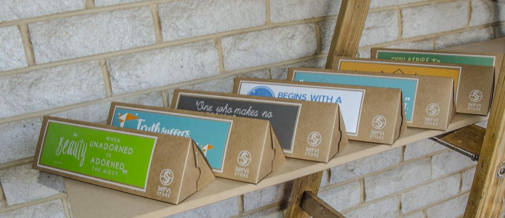 Servi Store Packaging Boxes - image 2 - student project