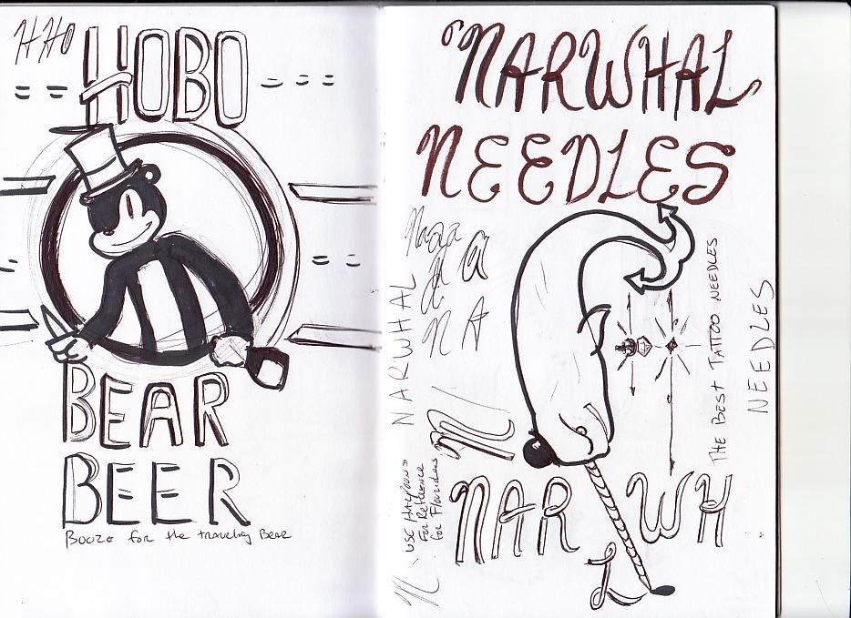 Narwhal Tattoo Supply Co. - image 4 - student project